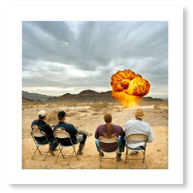 Ground Bomb, Winter Blast (limited edition print)