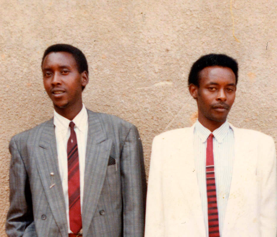 Habimana joseph on right and the other unknown name.jpg