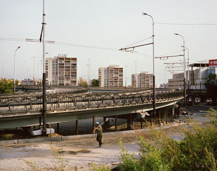 Glory to the Working Class! Khabarovsk, Far East Russia, October 2004