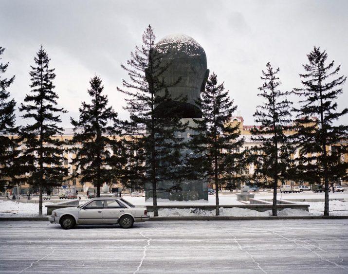 World's largest bust of Lenin, Ulan Ude, Eastern Siberia, November 2004