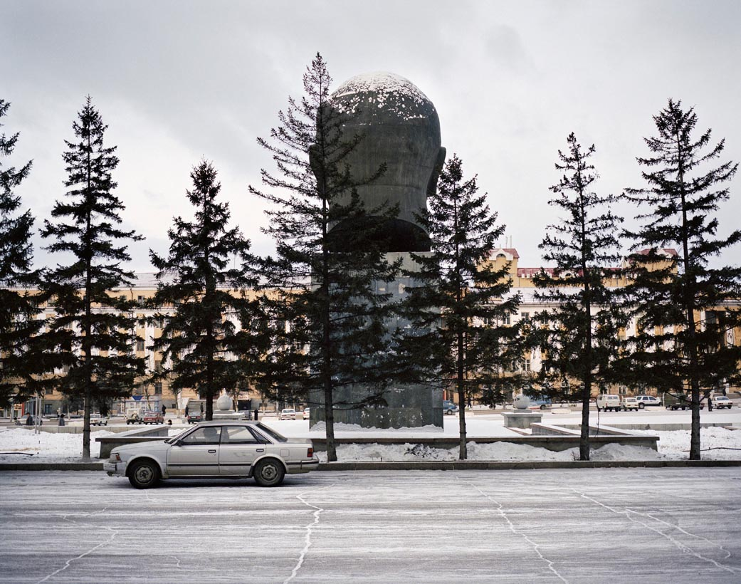 World's largest bust of Lenin, Ulan Ude, Eastern Siberia, November 2004