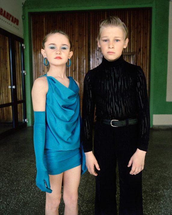 Ballroom dancers, Nikita and Rufina, Omsk, Western Siberia, May 2005