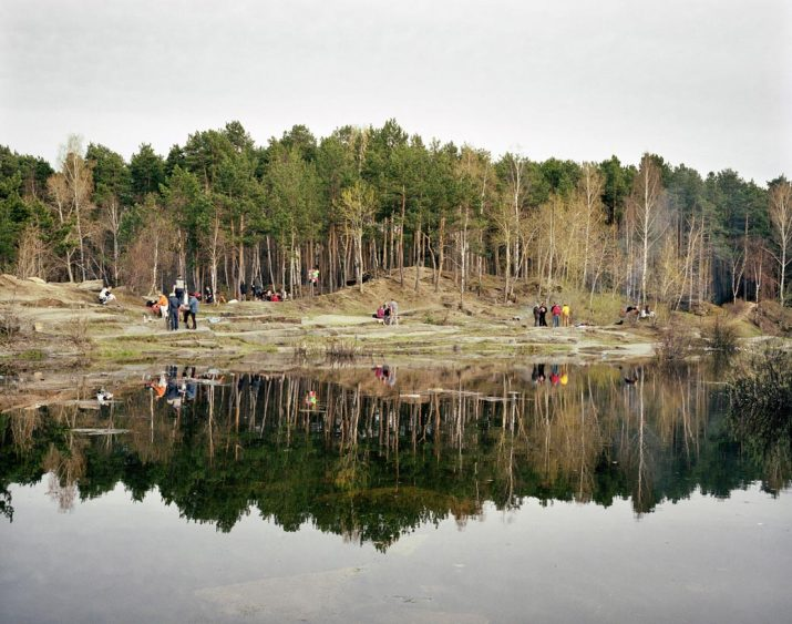 Victory Day picnic, Yekaterinburg, Urals, May 2005