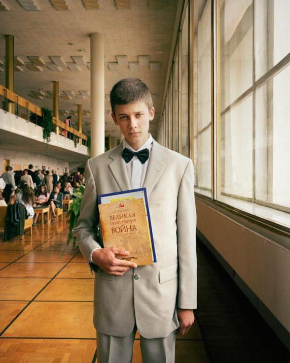 Yevgeny Chavkin at his graduation ceremony, Ulyanovsk, Volga, June 2005