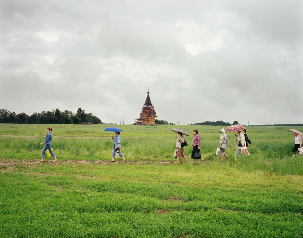 Pilgrimage to Gremyachi Kluch, Northern Moscow, Central Russia, July 2005