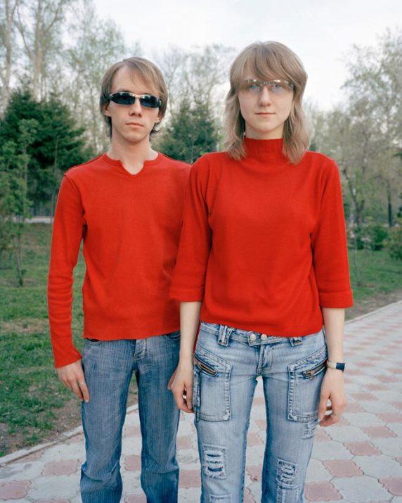 Arkadiy and Polina, Tomsk, Western Siberia, May 2005