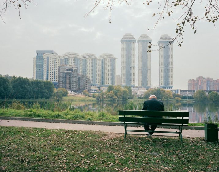 A new development of luxury apartments, Moscow, Central Region, July 2005