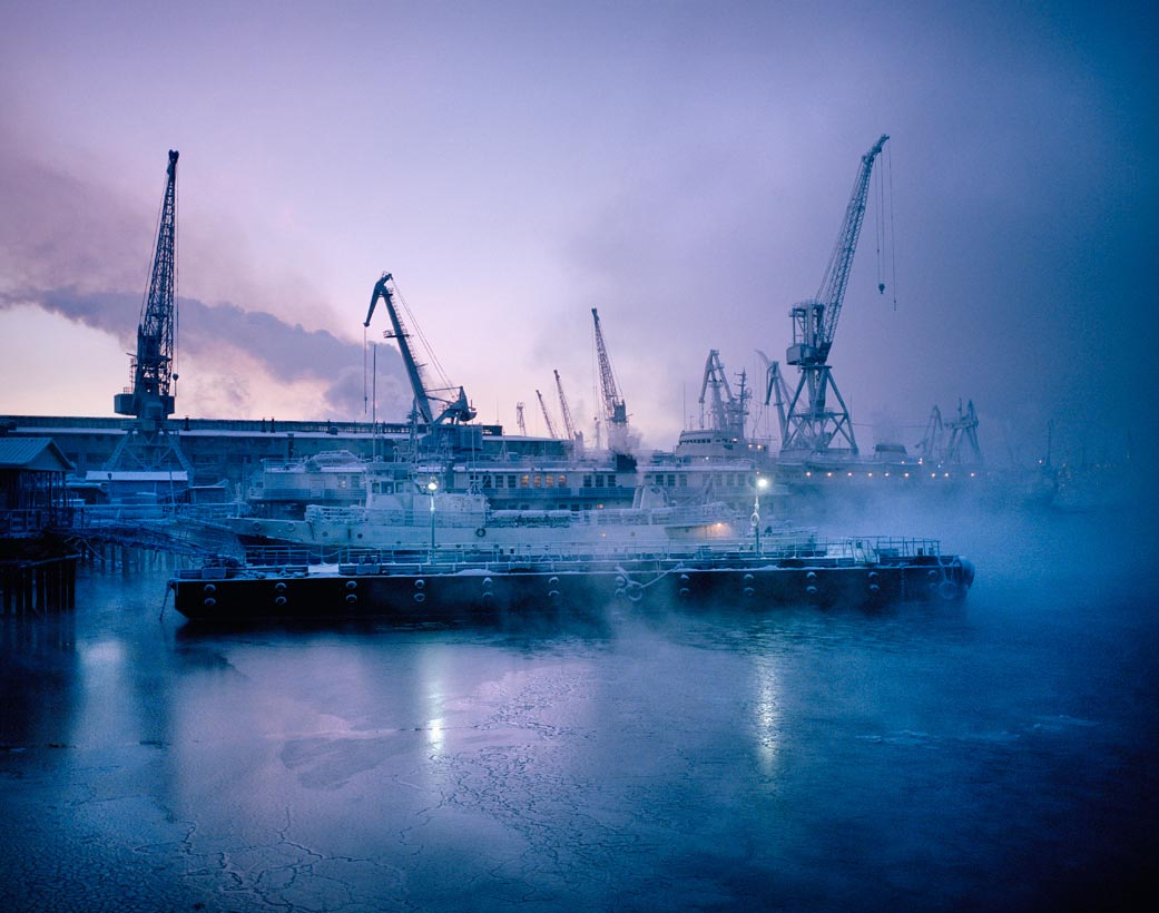 Untitled 15, Murmansk Harbour, Northern Russia. January 2005