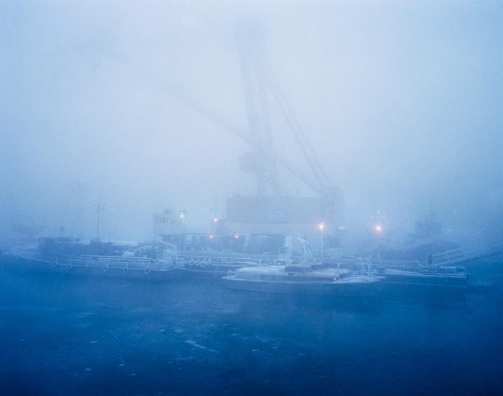 Untitled 16, Murmansk Harbour, Northern Russia, January 2005