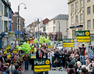 Penri James, Plaid Cymru, Aberwyswyth, 24th April 2010 (Ceredigion constituency)