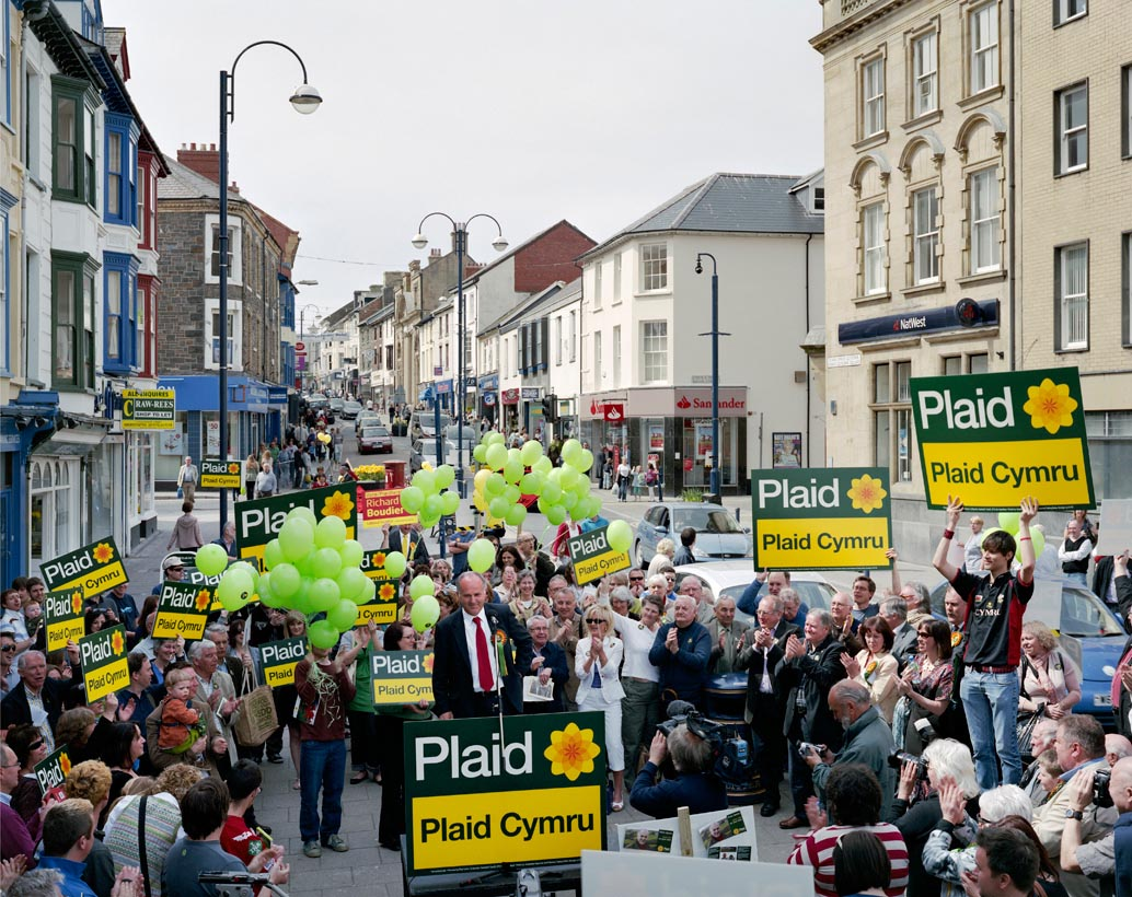 Penri James, Plaid Cymru, Aberwyswyth, 24th April 2010 (Ceredigion constituency)