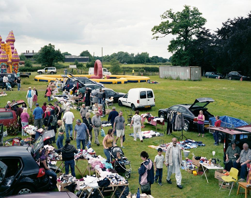 Chelford Car Boot, Moat Hall Farm, Marthall, Cheshire, 13th July 2008