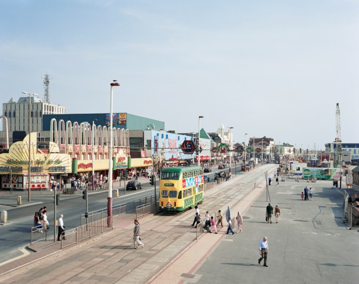 Blackpool Promenade, Lancashire, 24th July 2008