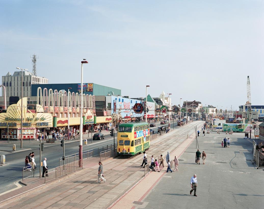 Blackpool Promenade, Lancashire, 24th July 2008