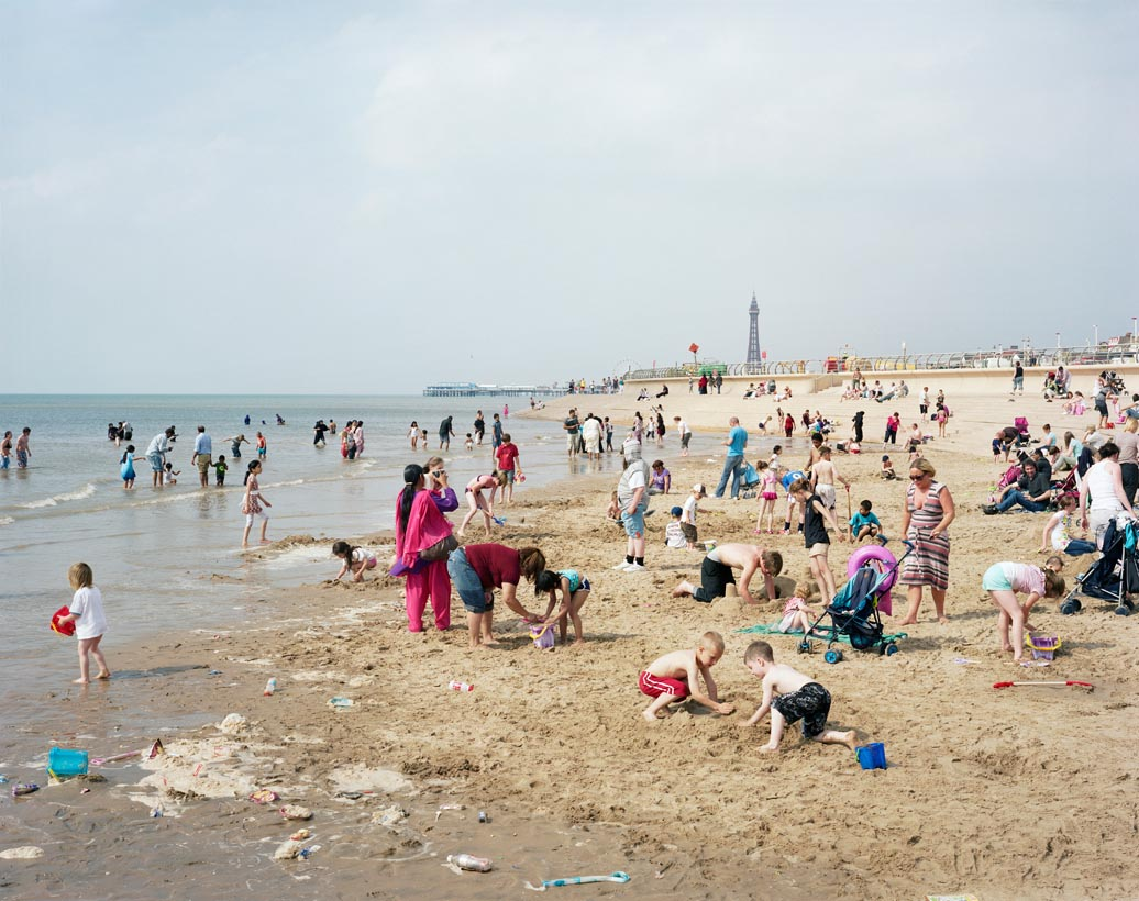 Blackpool Beach #1, Lancashire, 25th July 2008