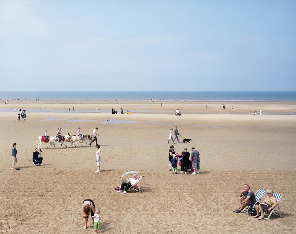 Blackpool Beach #2, Lancashire, 25th July 2008