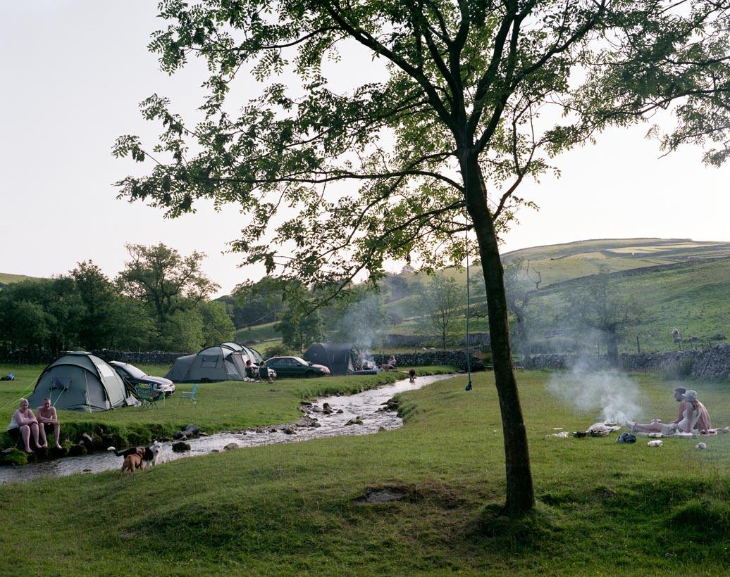 Gordale Scar Campsite, Malham, North Yorkshire, 28th July 2008
