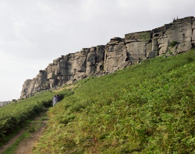Stanage Edge, Hathersage, Derbyshire, 3rd August 2008
