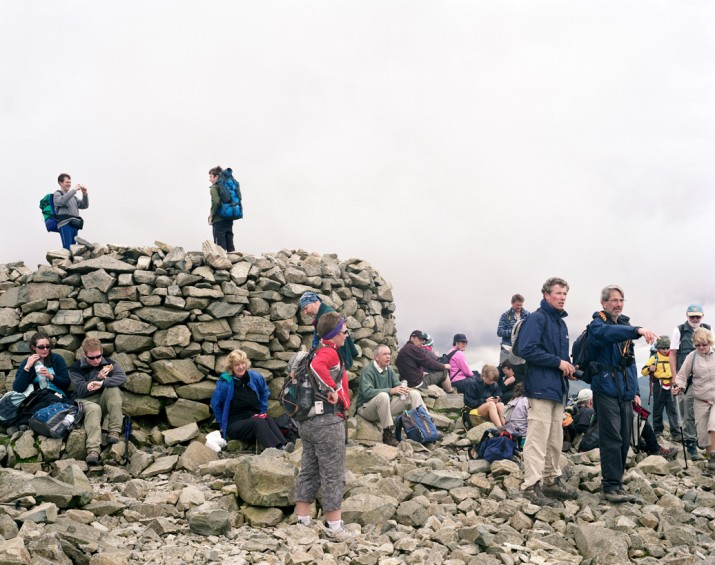Scafell Pike Summit, Wasdale Head, Cumbria, 22nd August 2008