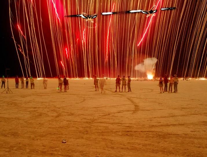 Streamers, Desert Blast, Nevada, 1999
