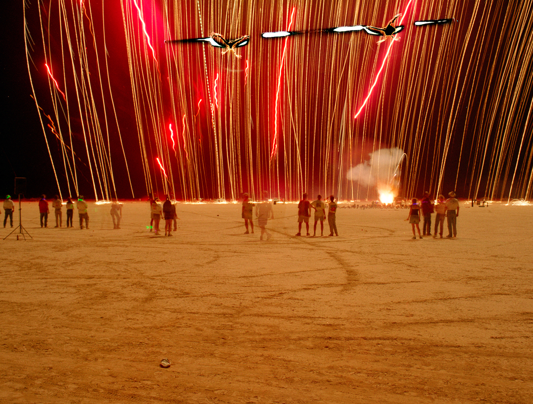 Streamers, Desert Blast, Nevada, 1999