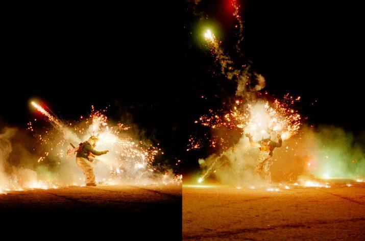 Pyro Boy, Desert Blast, Nevada, 1999