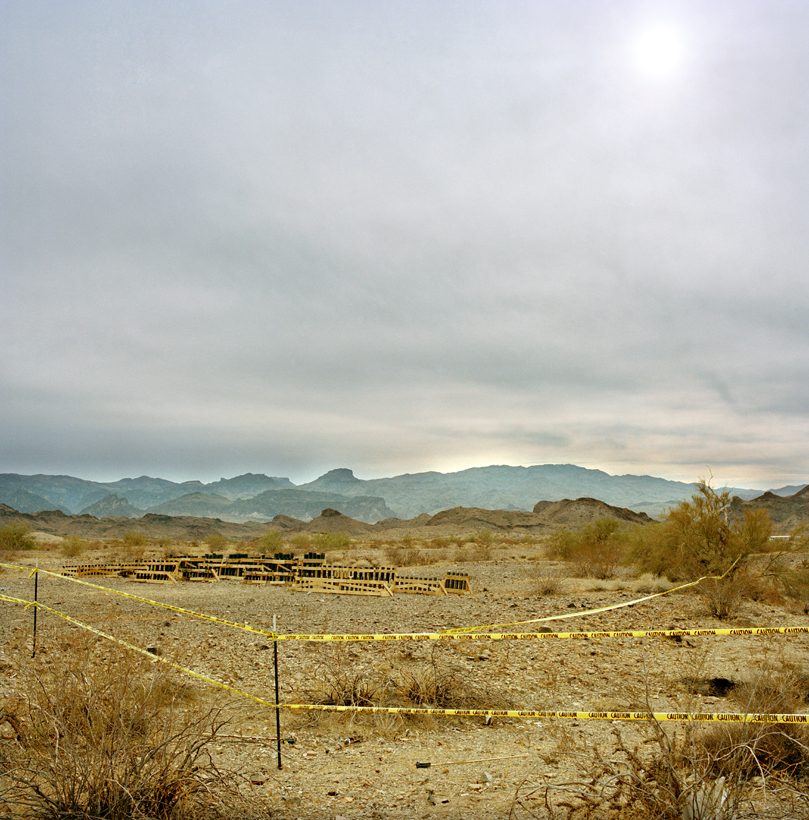 Aftermath, Winter Blast, Arizona, 2002