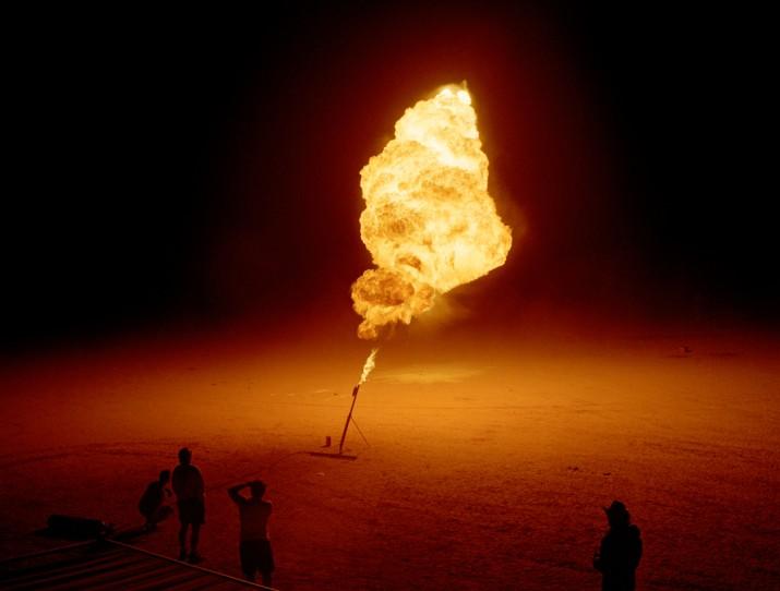 Flame Thrower, Desert Blast, Nevada, 1999