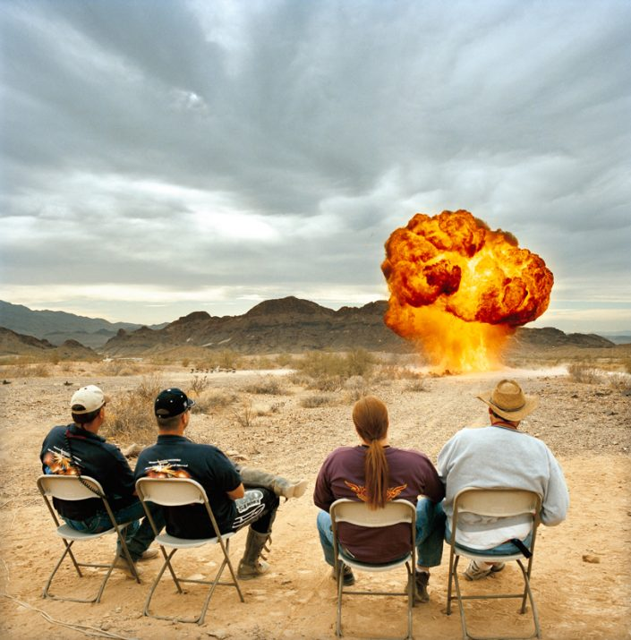 Ground Bomb, Winter Blast, Arizona, 2002
