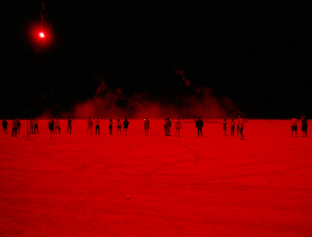 Red Flare, Desert Blast, Nevada, 1999