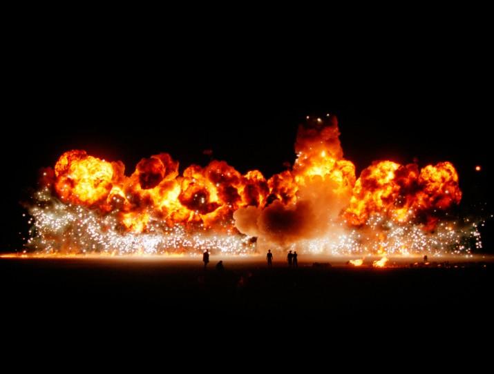 Desert Fusion, Desert Blast, Nevada, 1999