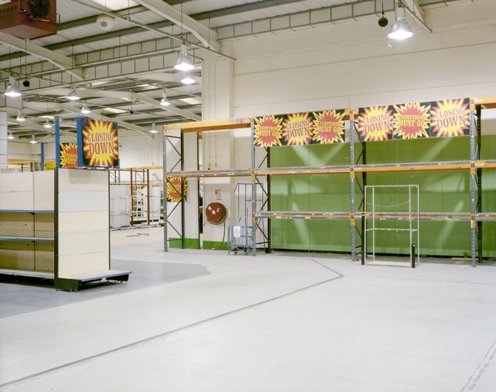 Closed down DIY Focus Store, Brighton, East Sussex, 10 June 2011