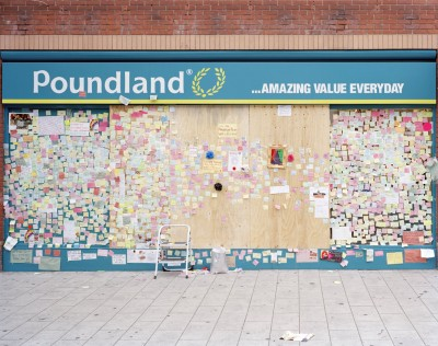 Peckham Peace Wall #2, Peckham, London 11 August 2011