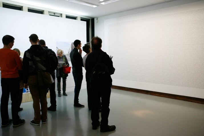 Credit Crunch Lexicon, Swiss Cottage Gallery,  2012