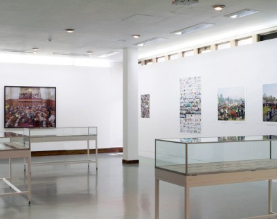 Swiss Cottage Gallery installation, June 2012
