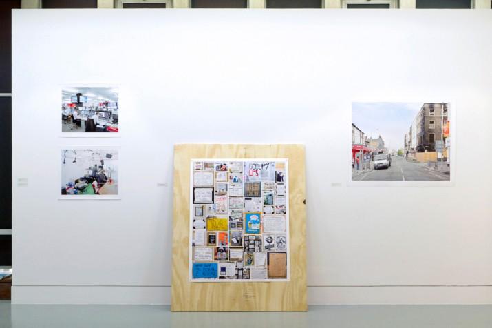 Swiss Cottage Gallery installation, June 2012