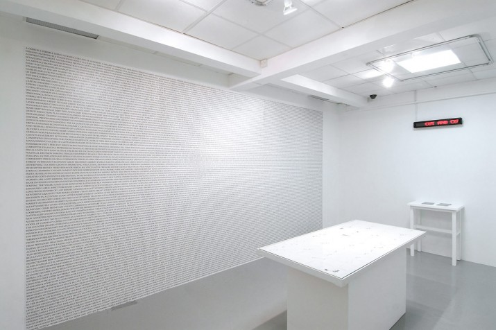 Credit Crunch Lexicon, John Hansard Gallery, 2014