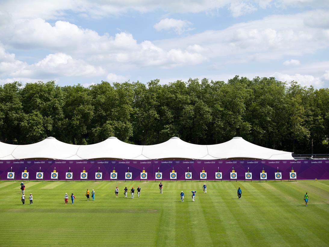 Archery, Lord's Cricket Ground, London, 28 July 2012