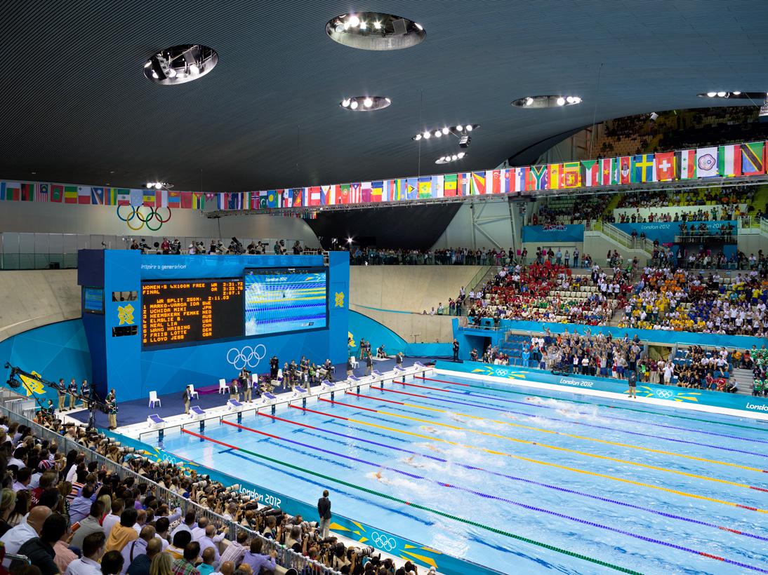 Women's 4x100m Freestyle Relay, Aquatics Centre, London, 28 July 2012