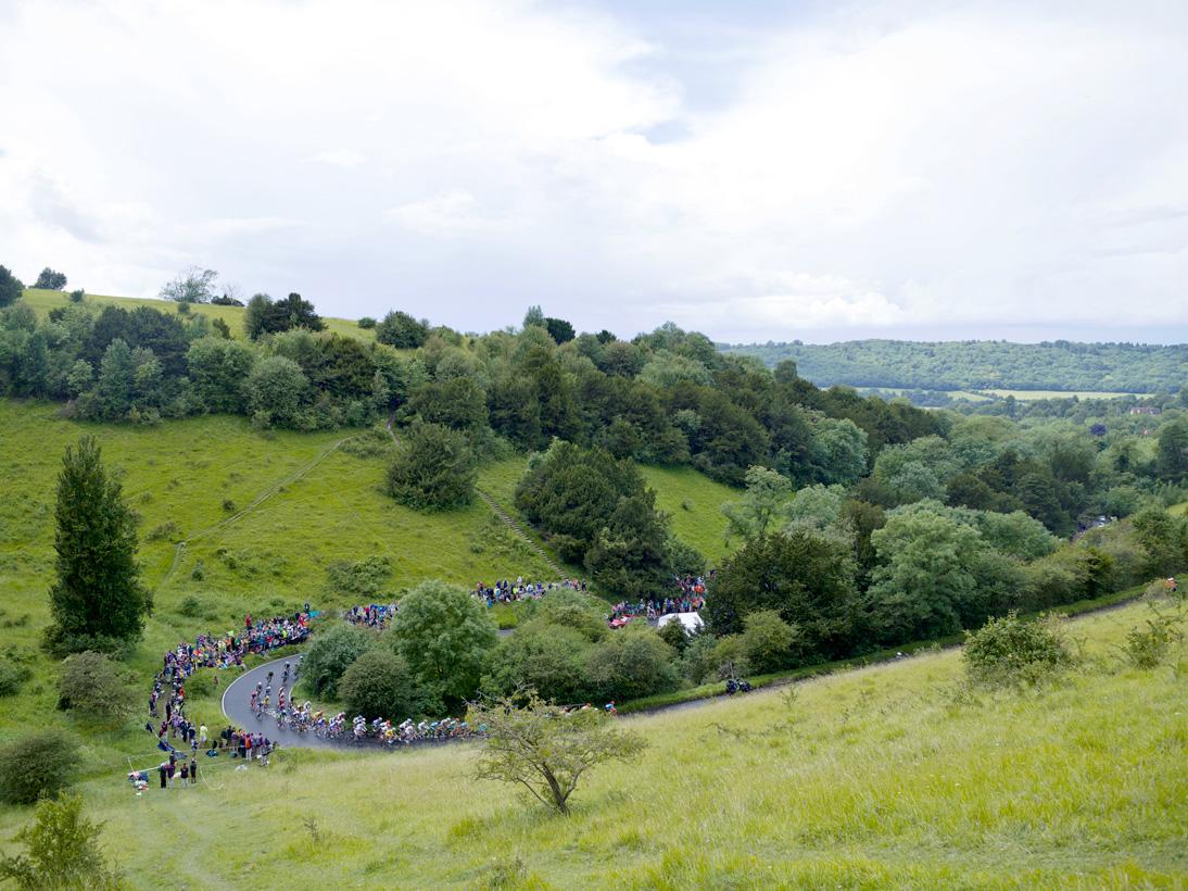 Women's Cycle Road Race, Box Hill, Surrey, 29 July 2012