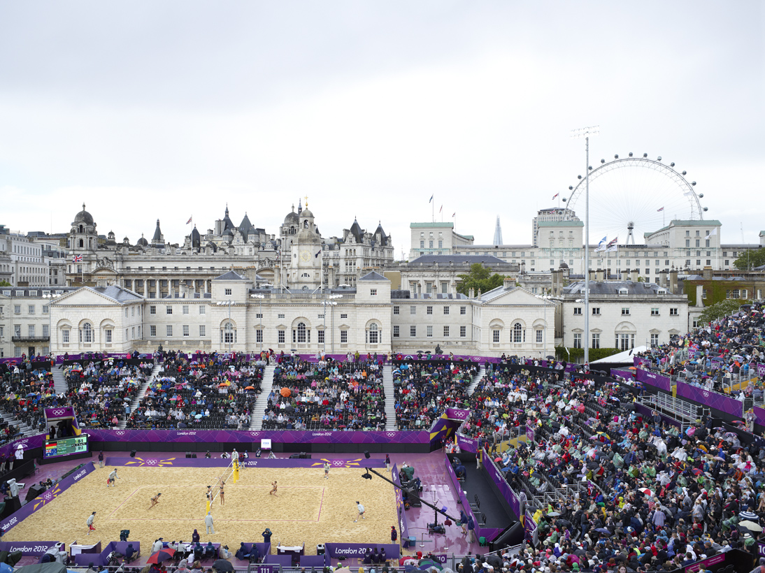 Women's Beach Volleyball, Horseguards Parade, London, 29 July 2012