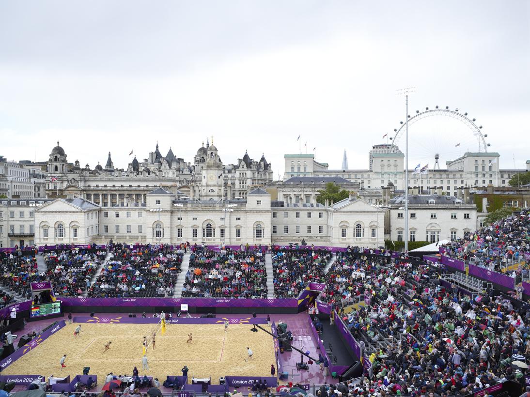 Women's Beach Volleyball, Horseguards Parade, London, 29 July 2012