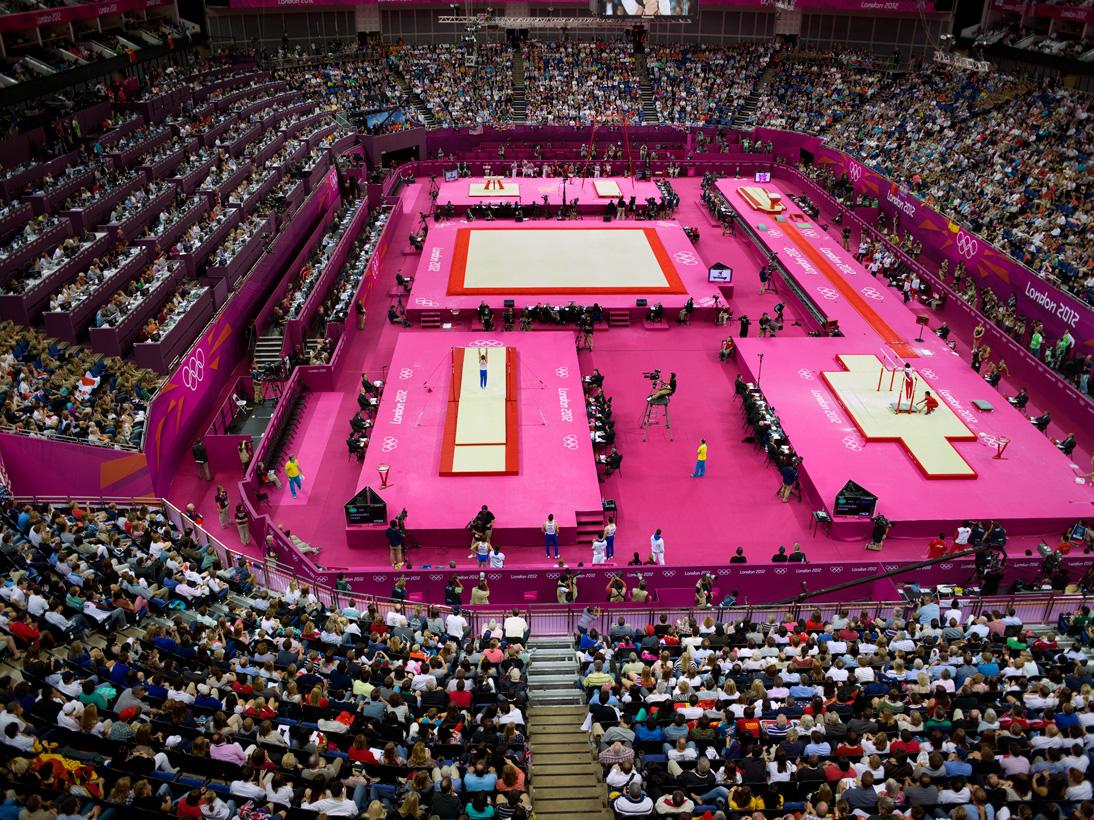 Men's Artistic Gymnastics, North Greenwich Arena, London, 30 July 2012