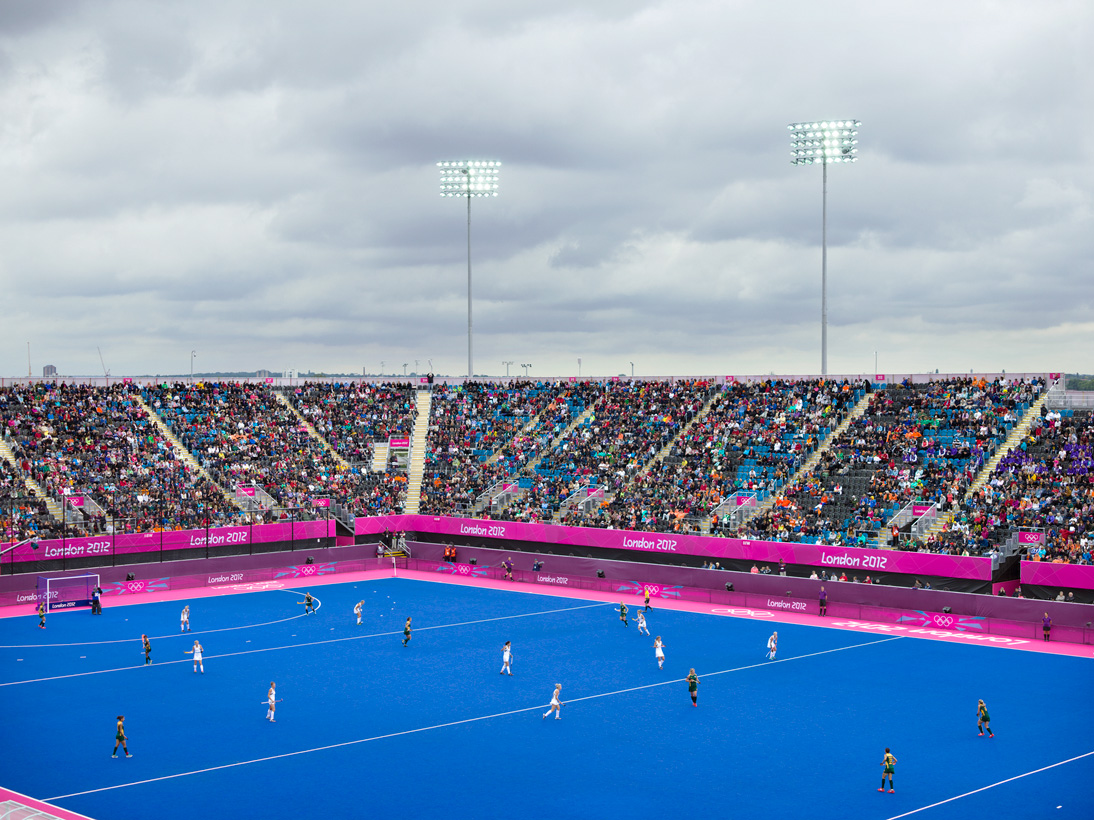 Women's Hockey,  Riverbank Arena, London, 29 July 2012