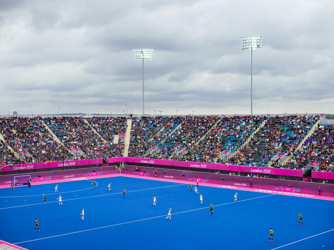 Women's Hockey,  Riverbank Arena, London, 29 July 2012