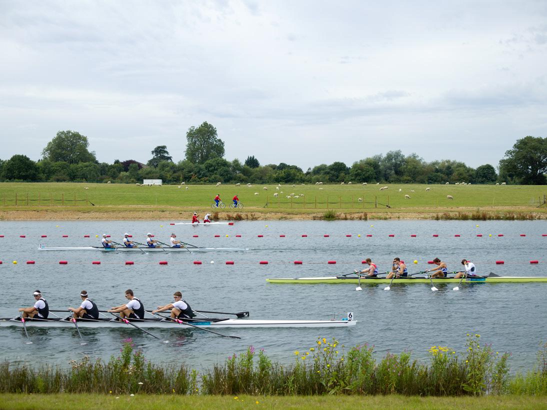 Men's Rowing Quadruple Skulls, Eton Dorney, Surrey, 1 August 2012