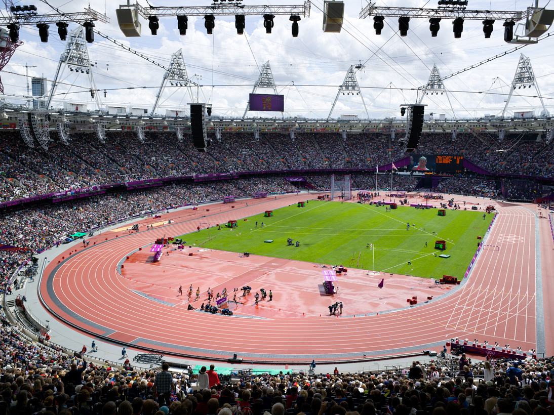 Athletics, Olympic Stadium, London, 3 August 2012