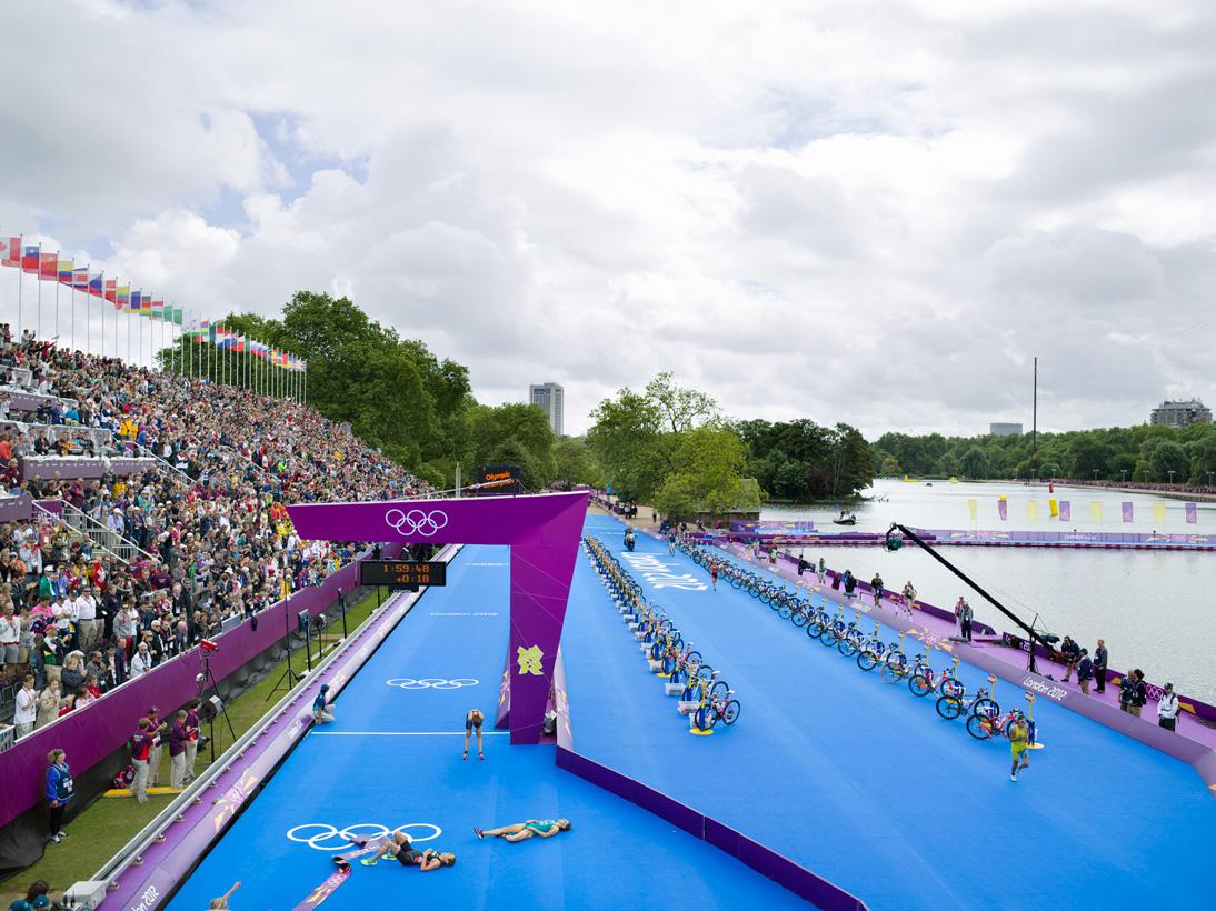 Women's Triathlon, Hyde Park, London, 4 August 2012