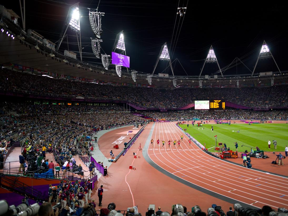 Men'€™s 100m Final, Olympic Stadium, London, 5 August 2012