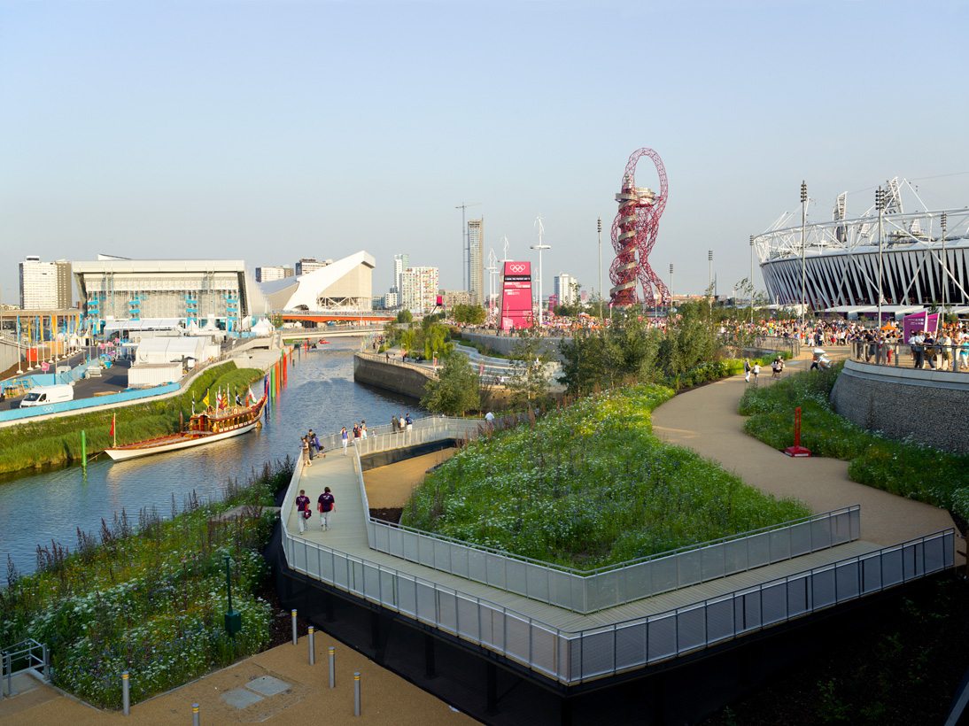 Olympic Park, London, 10 August 2012